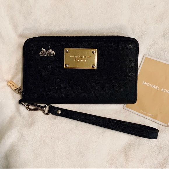 MICHAEL Michael Kors Handbags - MICHAEL KORS bundle earrings/ wristlet
